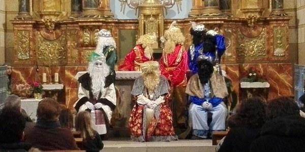 Arribada de Ses Majestats els Reis Mags d'Orient