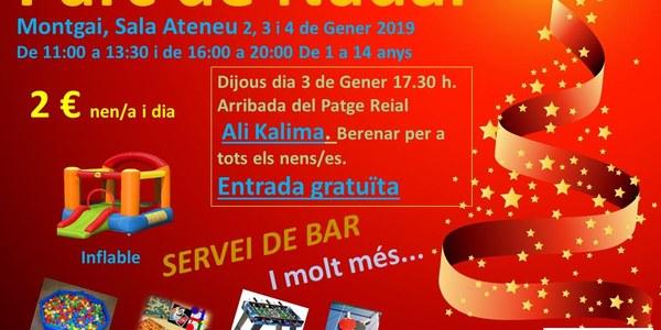 Parc de Nadal a la Sala Ateneu de Montgai