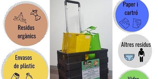 Campanya de sensibilització de recollida de residus