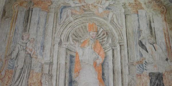 Restauren les pintures barroques que van aparèixer per sorpresa a l'església de Butsènit