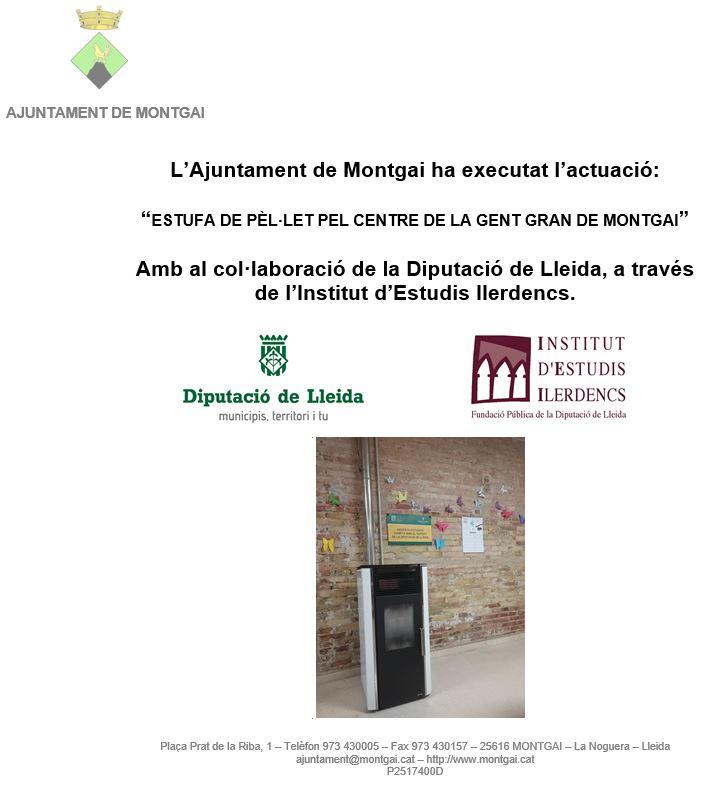 Diputació de Lleida: Estufa del Centre de Serveis de la Gent Gran